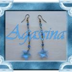 Aqua sea stars